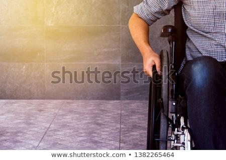 Sclerosis. Medical Concept on Red Background. Stock photo © tashatuvango