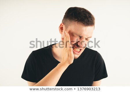 man getting slapped Stock photo © IS2