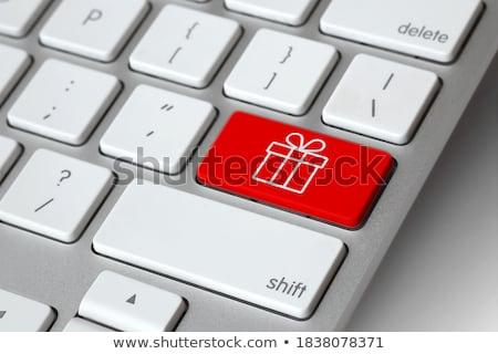 buy online closeup of keyboard stock photo © tashatuvango