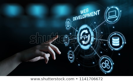 Web Development Button. Stock photo © tashatuvango