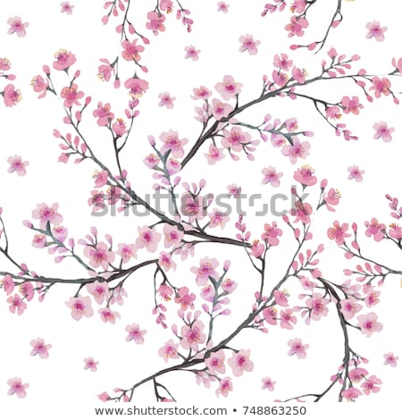 abstract · patroon · illustratie · vector · bloem - stockfoto © krisdog