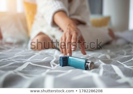 asthma stock photo © lightsource