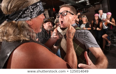 shock in tavern stock photo © fisher