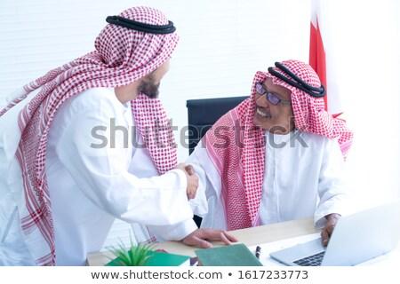 2 中東 ビジネスマン 握手 ビジネス 男性 ストックフォト © monkey_business