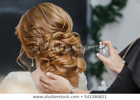 haj · fésű · olló · szerszámok · hajviselet · csatolmány - stock fotó © dolgachov