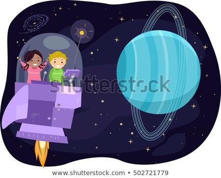 sistema · solar · espacio · planetas · sol · enano · planeta - foto stock © lenm