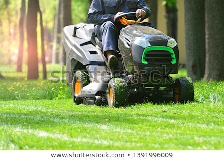 Lawn mower tractor Stock photo © 5xinc