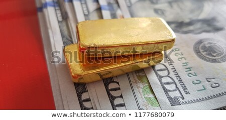 Shining gold bars in retro Stock photo © tracer