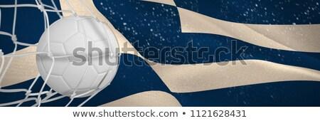 Futebol meta com digitalmente gerado grego Foto stock © wavebreak_media