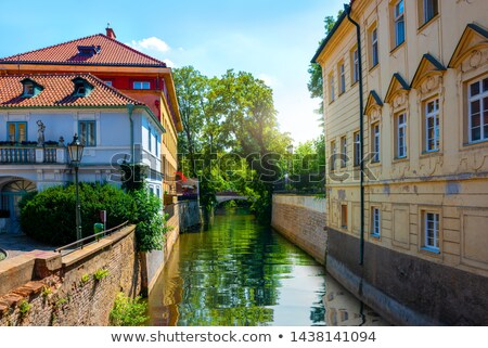 Channal Certovka in Prague Stock photo © Givaga
