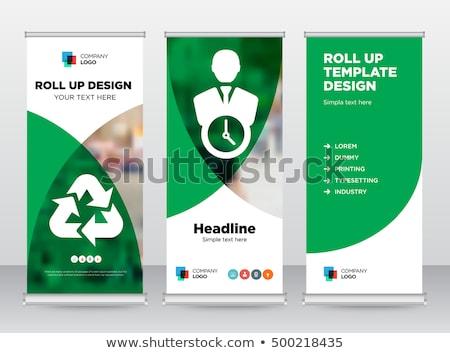 yönetim · poster · simgeler · iş · araçları · dizayn - stok fotoğraf © robuart