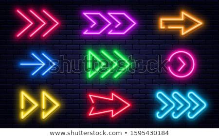 緑 フレーム 矢印 ベクトル デザイン テクスチャ ストックフォト © blaskorizov