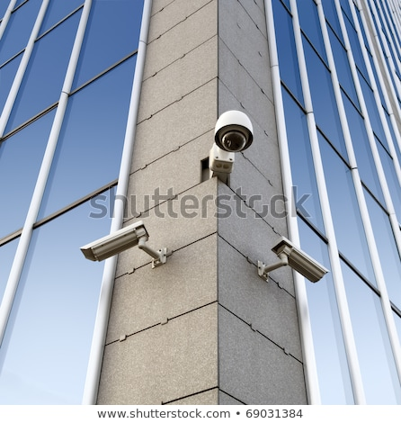 security camera attached to the wall stock photo © ruslanshramko