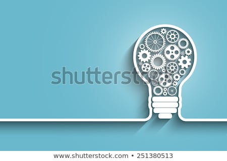 Team Working On Idea Light Bulbs Concept Stock photo © ivelin