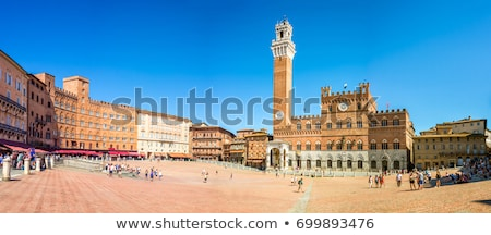 Palazzo Pubblico in Siena, Italy Stock photo © boggy