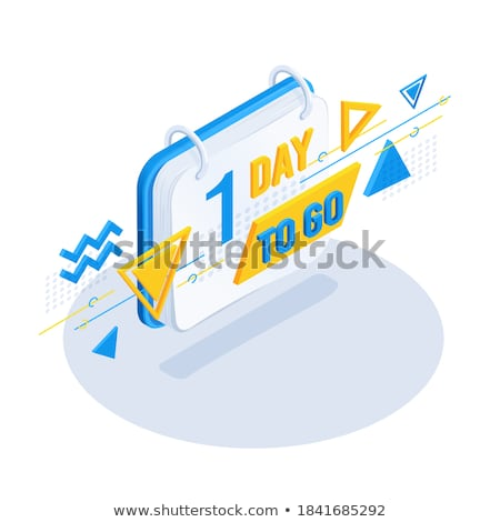 stylish number of days left of sale and promotion Stock photo © SArts