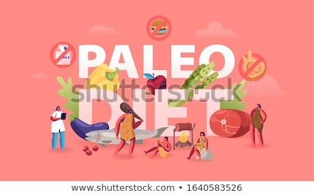 saludable · productos · paleo · dieta · alto · proteína - foto stock © furmanphoto