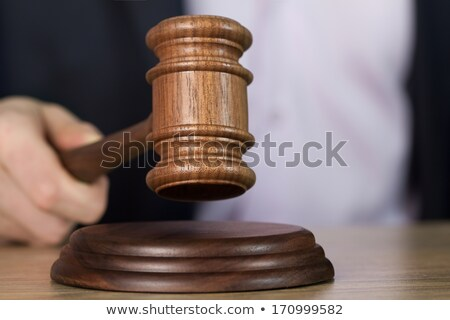 молота судья аукционе стороны молоток Сток-фото © -TAlex-