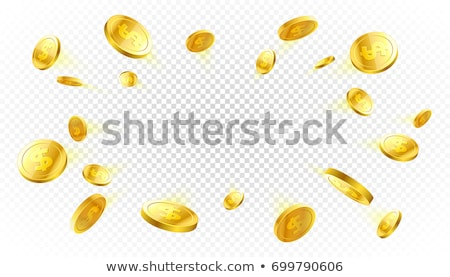 Gold coins explosion Stock photo © LoopAll