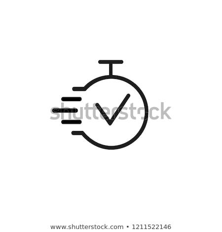 Zadanie zarządzania ludzi sprawdzić pola lista rzeczy do zrobienia Zdjęcia stock © RAStudio