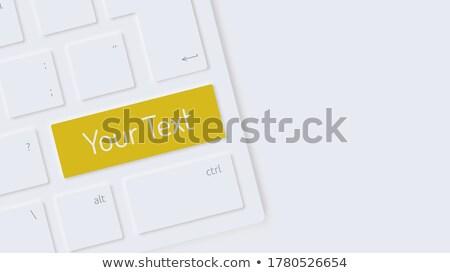 Foto stock: Negócio · desenvolvimento · texto · branco · teclado · chave