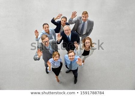uśmiechnięty · różnorodny · ręce · portret · szczęśliwy · biuro - zdjęcia stock © andreypopov