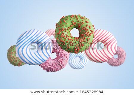 battenti · blu · confine · multicolore · dolce - foto d'archivio © neirfy