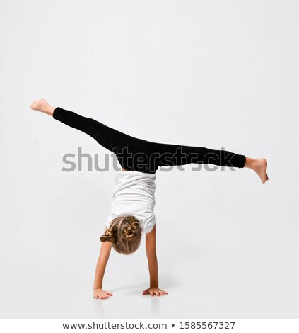 Girl in gymnastic uniform Stock photo © bluering