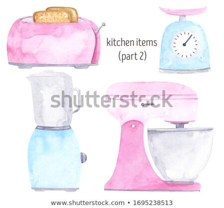 ストックフォト: クリーム · 製菓 · ショップ · 料理の · 料理