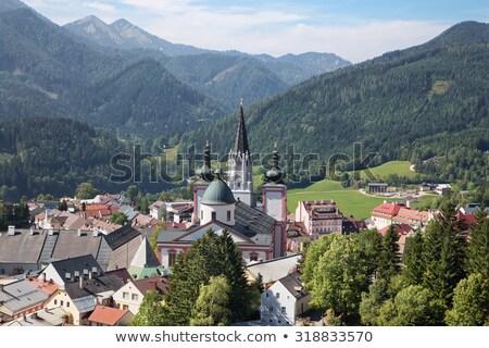 Bazilika Avusturya önemli hac hedef bir Stok fotoğraf © borisb17
