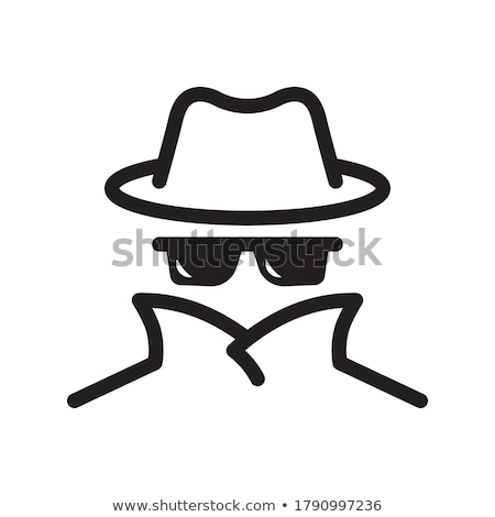 Identity Theft Icon Vector Outline Illustration Stock photo © pikepicture