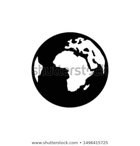 World or globe icon. Globe symbol. Stock Vector illustration isolated on white background. Stock photo © kyryloff