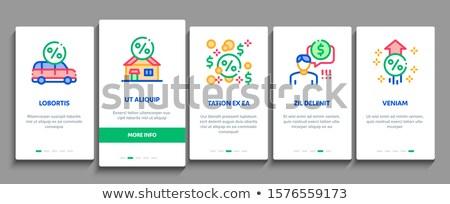 Betaaldag lening communie vector mobiele Stockfoto © pikepicture