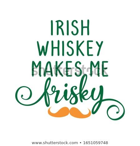 ирландский виски мне смешные день Вдохновенный Сток-фото © Zsuskaa