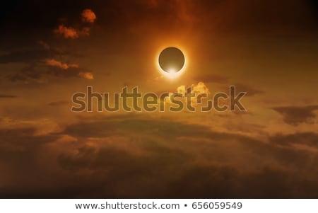 Solar eclipse sol cielo belleza espacio Foto stock © solarseven
