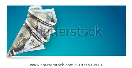 сумку оригами американский доллара валюта банкнота Сток-фото © LoopAll