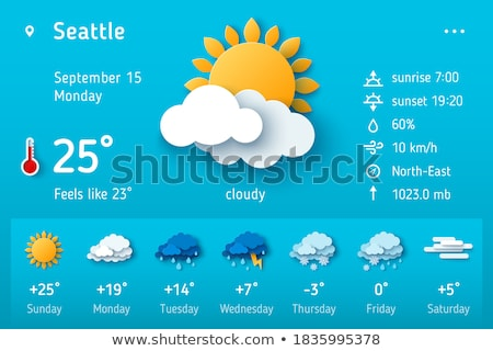 Forecast daily Stock photo © Darkves