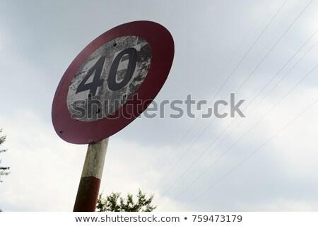 Vietnam Road Sign Stock photo © kbuntu