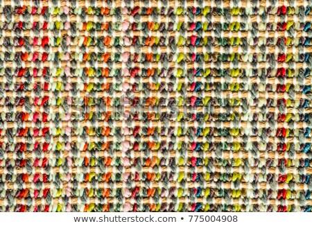Kolorowy wełny wykonany ręcznie kwiat streszczenie Zdjęcia stock © vlaru