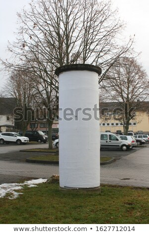 Advertisement on pillar Stock photo © simply