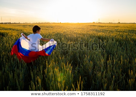 Russian People Celebrating Victory Day Stock photo © Qingwa