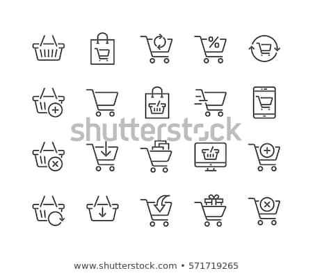mobile shopping cart Stock photo © pkdinkar