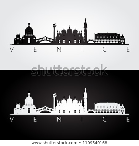 silhouettes of Venice stock photo © mayboro