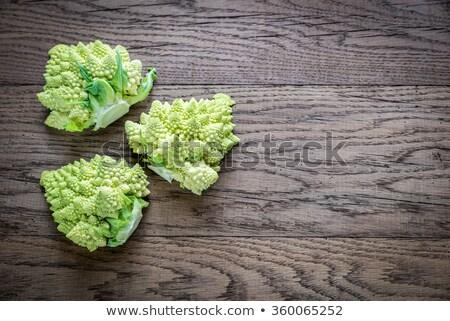 ruw · broccoli · witte · kom · groene · plantaardige - stockfoto © zhekos