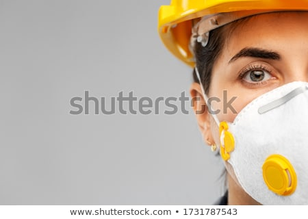 Closeup of a female manual worker Stock photo © photography33