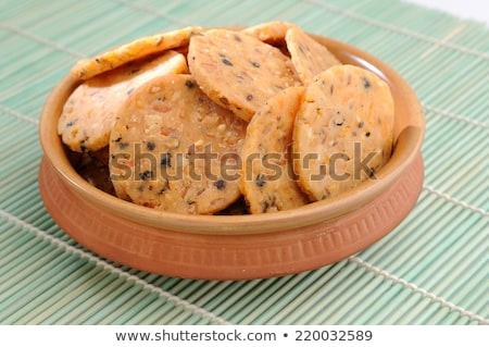 Muruku - popular south indian deep fried snack Stock photo © mnsanthoshkumar