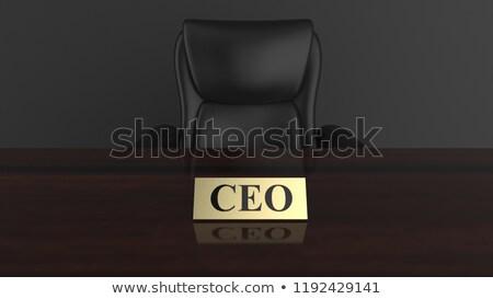 affaires · pointant · portrait · homme · professionnels · souriant - photo stock © pressmaster
