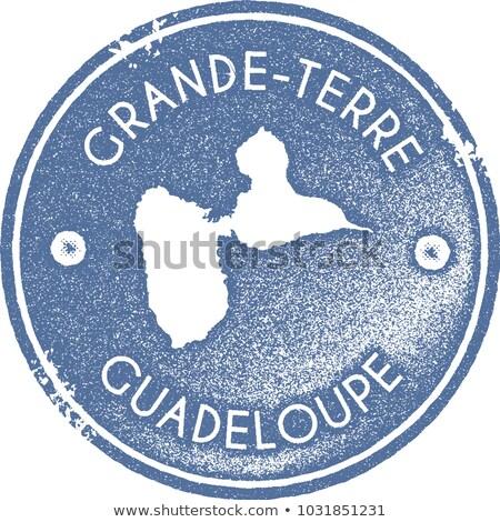 Stamp Guadeloupe Stock photo © cla78