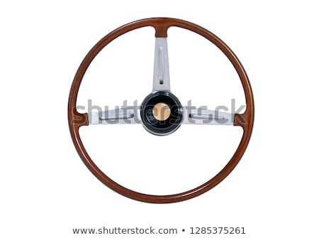 Vintage Steering Wheel stock photo © manfredxy
