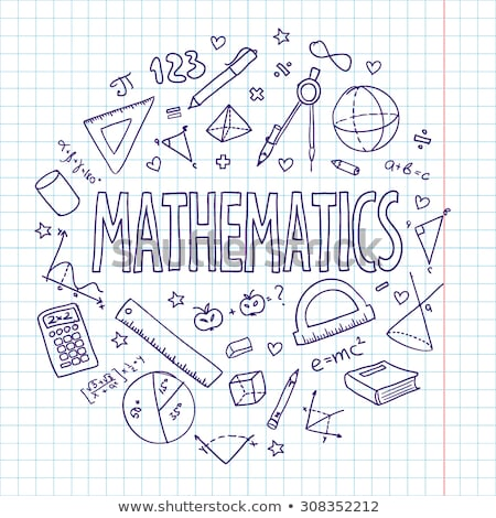 back to school math stock photo © hectorsnchz